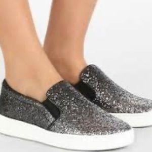 Michael Kors Glitter Black Sneakers